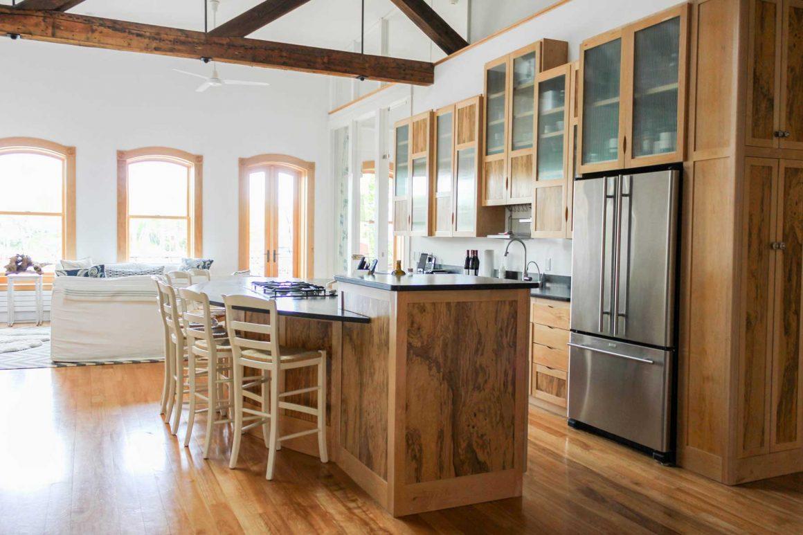 Camden Harbor Loft Kitchen