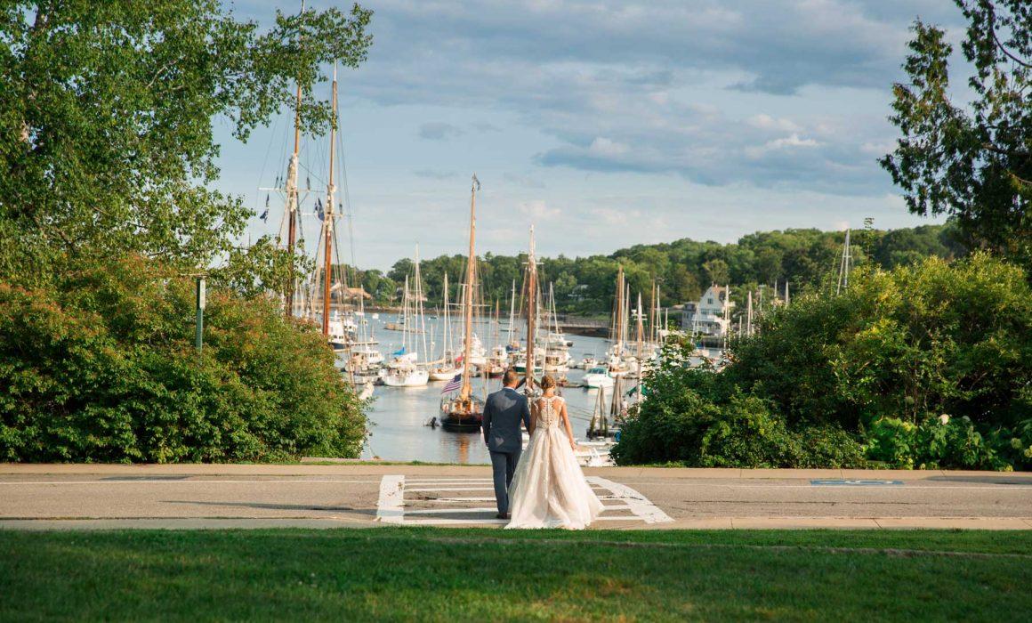 Wedding in Camden Maine