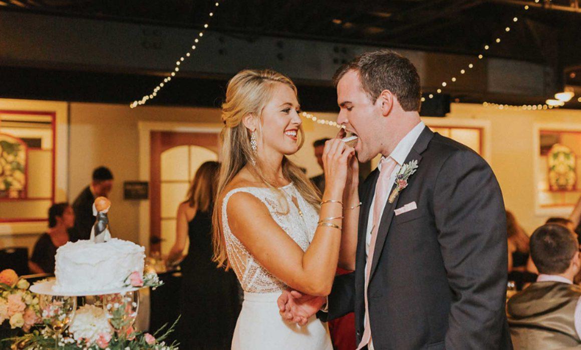 Wedding in 16 Bay View's Curtis-Bok Banquet Room