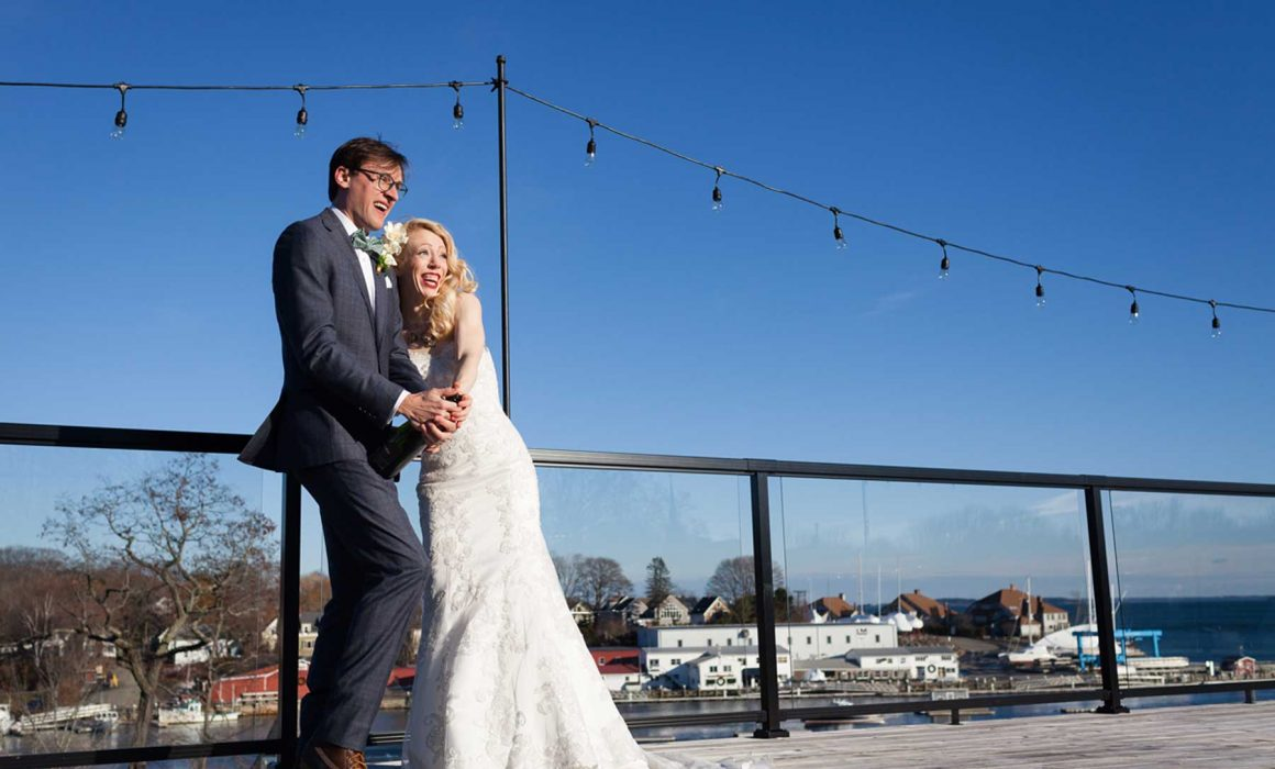 Winter Wedding at 16 Bay View
