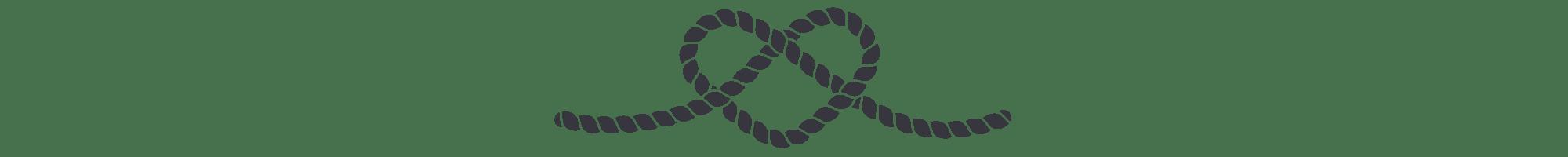 Heart Rope Border