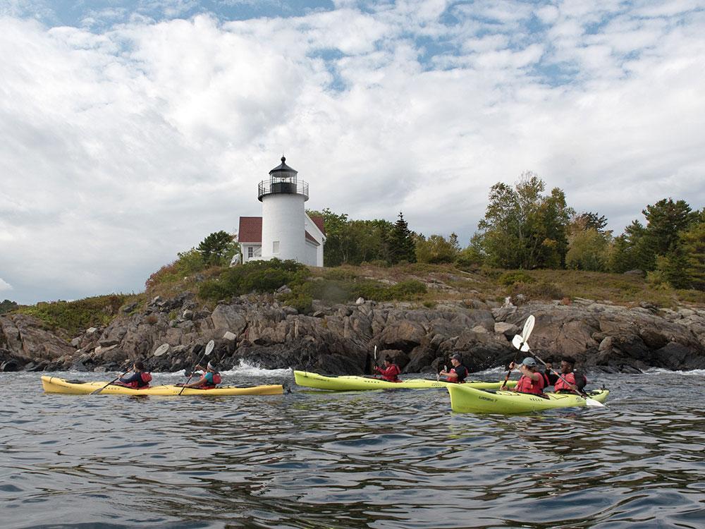 Maine Sport Sea Kayak Tour