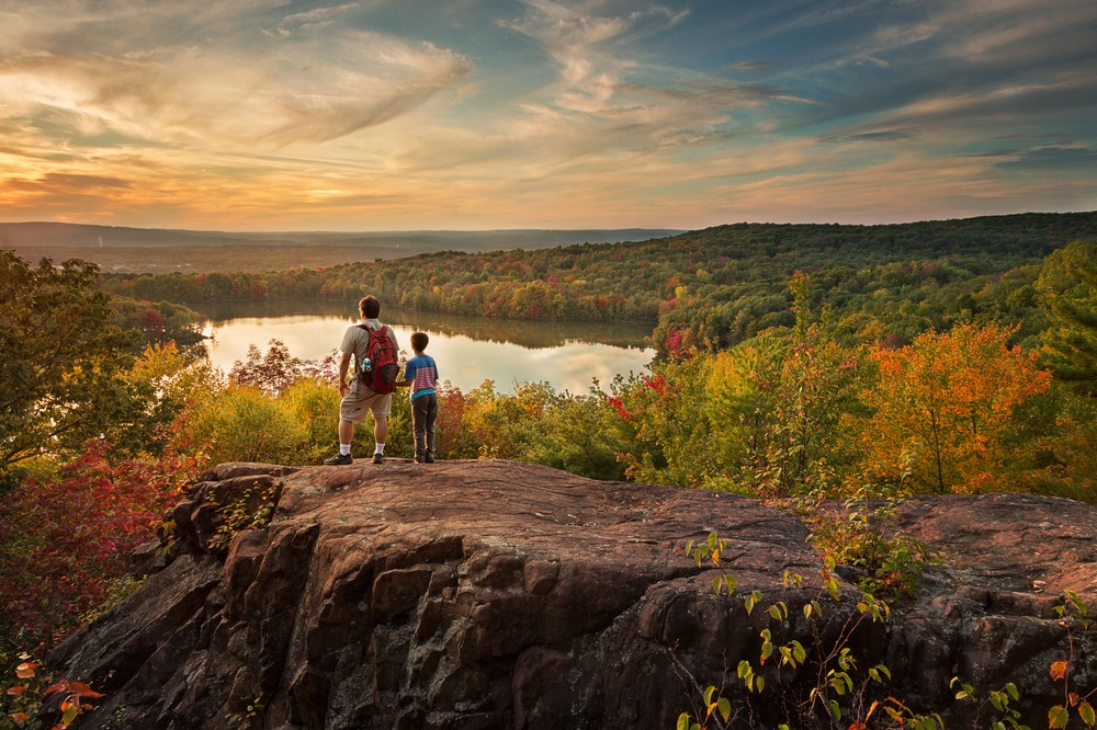 "FROM THE BANGOR DAILY NEWS- ""THESE FALL FOLIAGE HIKES LEAD TO SOME OF THE BEST DISPLAYS OF COLOR MAINE HAS TO OFFER"""