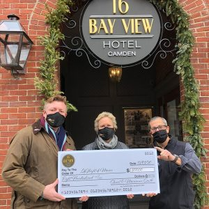 16 Bay View Makes $800 Donation to LifeFlight of Maine